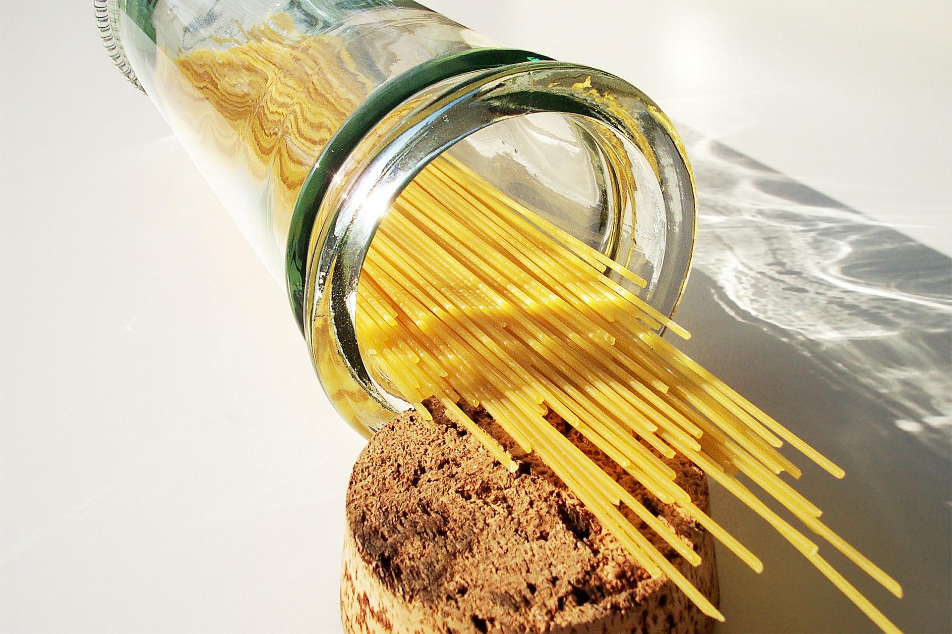 Les spaghettis aux oeufs